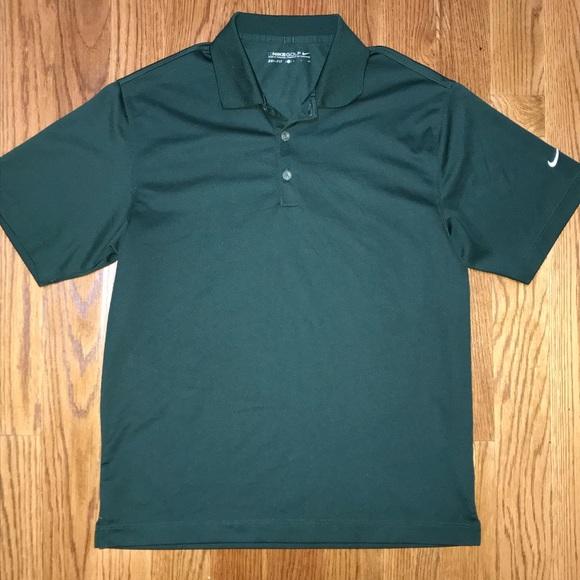 677407d81704 Nike Dri-Fit Mens Small Dark Green Polo Shirt. M 5aca975fd39ca2aa052e3035